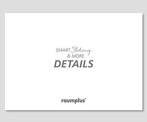 Brochure, Smart Sliding, Image details, products, product description, raumplus