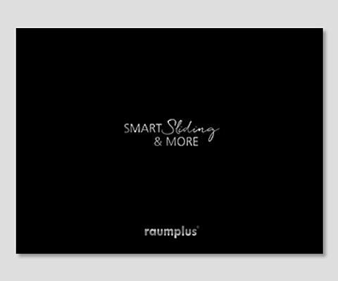 Brochure, Smart Sliding, Inspiration, products, raumplus